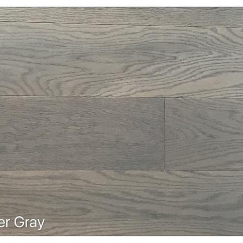 Wire Brushed Collection Silver Gray