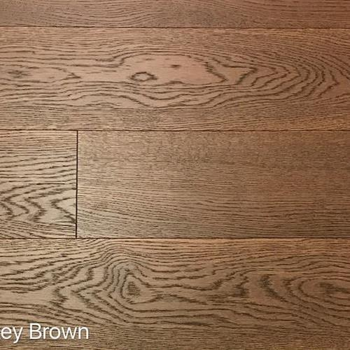 Wire Brushed Collection Smokey Brown