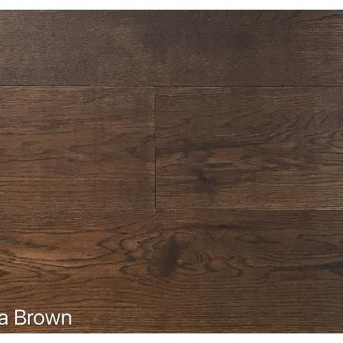 Wire Brushed Collection Terra Brown