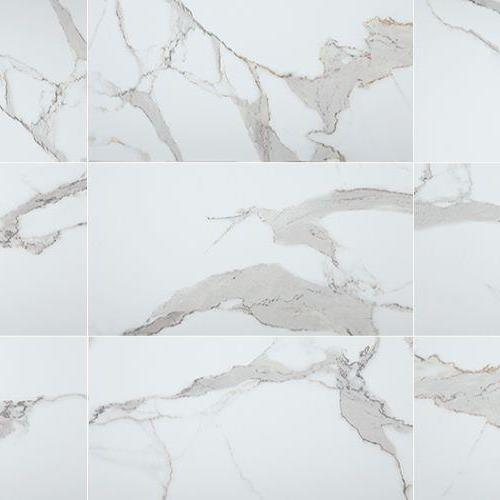 Way - Venato Carrara Satin - Brick Mosaic