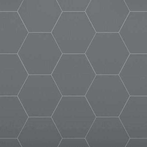 Architectural - A La Mode Geometric Cuts Hexagon