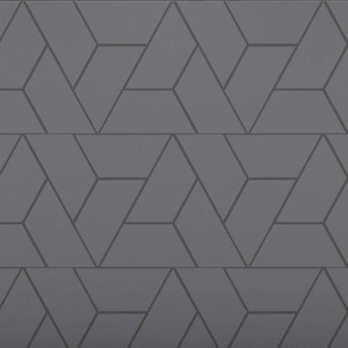 Architectural - A La Mode Geometric Cuts Trapezoid