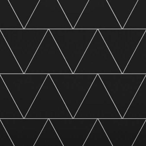 Architectural - A La Mode Geometric Cuts Triangle