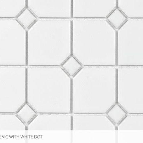 Seville Series - Contempo Heritage 2 X 2 With White Dot