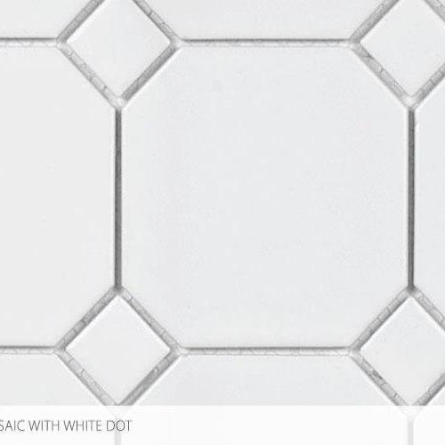 Seville Series - Contempo Heritage 4 X 4 With White Dot