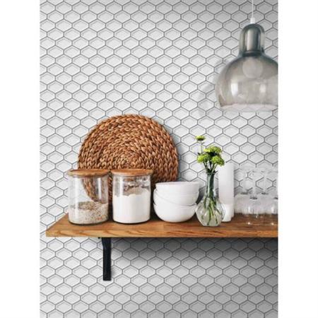 Jersey Glossy Grey - 2 X 2 Mosaic